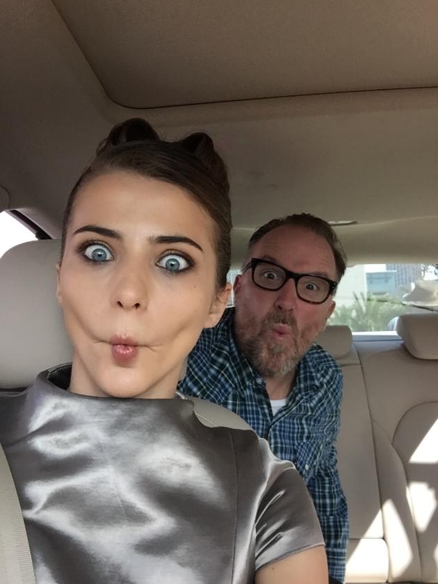 Selfie with Alina.
