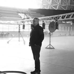 Ian Foster, DOP thinking what the f...ck am I going to do with this!