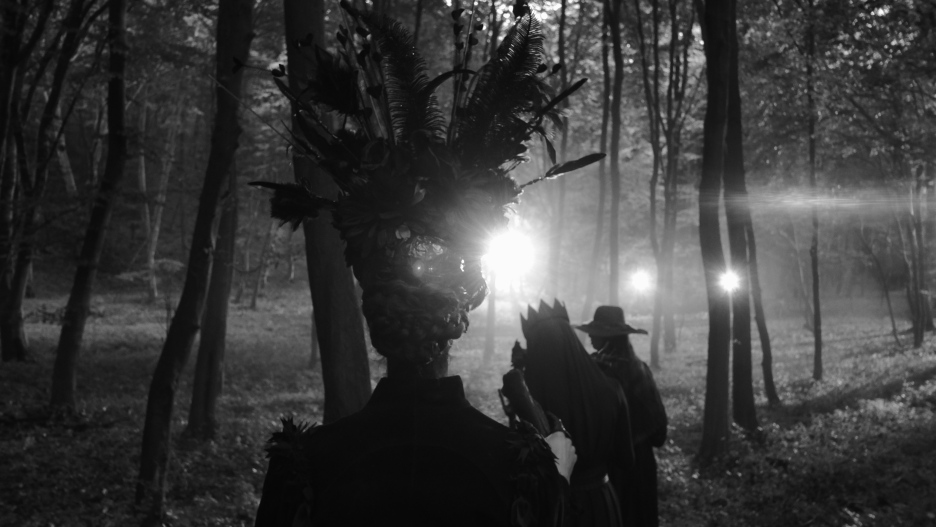 Prepping the witches in the woods