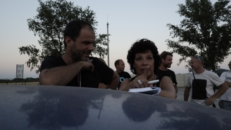 Luis 1st AD and Theresa (line Producer)