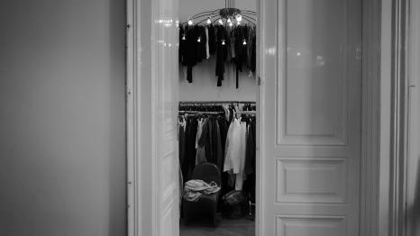 Wardrobe fitting