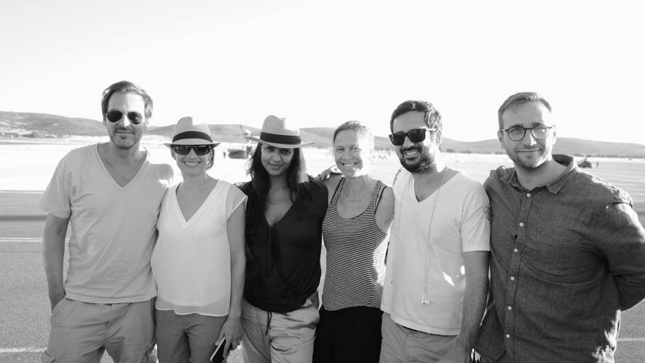 Stefan, Silke, Anne, Vera, Siya, Uli