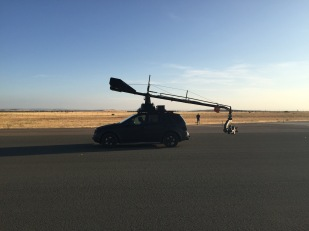 This is the Russian arm, kind of like home for us on a car shoot!